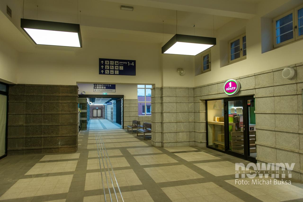 Tu Stacja Gliwice Mamy Nowoczesny Dworzec Pkp Nowiny Gliwickie